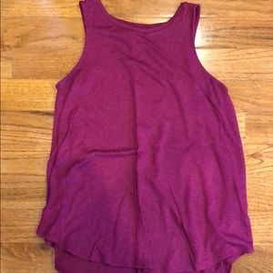 Old Navy Pink Luxe Tank